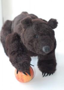 Little Grizzly (Grizlik) bear. Mint-Bird (2011)