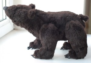 Little Grizzly (Grizlik) bear. Mint-Bird (2011)