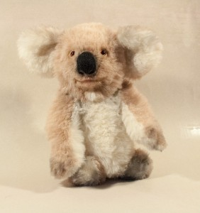Efrosinia (or Frosya), koala. Mint-bird (2012).