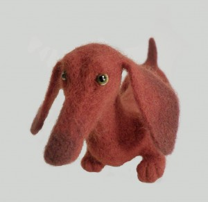 Dachshund with parachute (dog). Mint-Bird (2011)