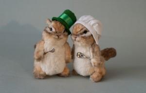 Chipmunks. Mint-Bird