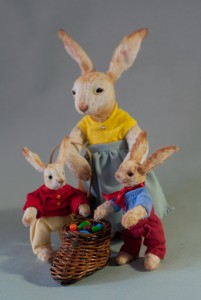 Bunch of Easter bunnies. Mint-Bird (2013)