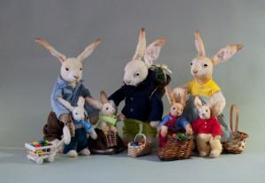 Bunch of Easter bunnies. Mint-Bird (2013)