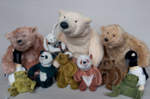Bears and friends by Alena Tauseneva/ Mint-Bird