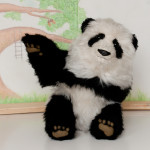 JiaJia. Pamda by Mint-Bird. 28cm (sitting). Mohair. OOAK