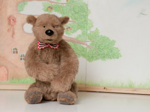 Max by Mint-Bird. 30cm sitting. Alpaca.. OOAK.
